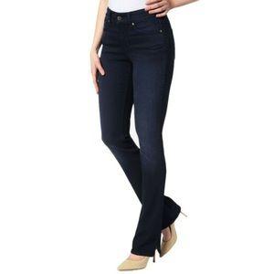 NYDJ Billie Mini Boot Dark Wash Lift Tuck Jeans
